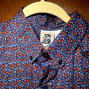 Kennington short sleeve shirt floral print new